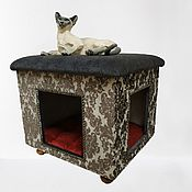 Зоотовары handmade. Livemaster - original item House for dogs and cats. Available in size.. Handmade.