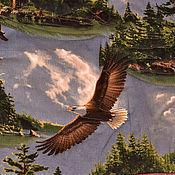 Для дома и интерьера ручной работы. Ярмарка Мастеров - ручная работа Покрывало Северный орел. Handmade.