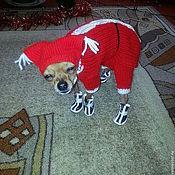 Для домашних животных, handmade. Livemaster - original item jumpsuit toy Terrier