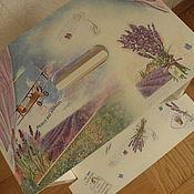 Для дома и интерьера ручной работы. Ярмарка Мастеров - ручная работа Стремянка Запах лаванды. Handmade.