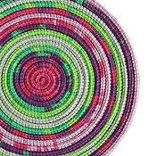 Аксессуары ручной работы. Ярмарка Мастеров - ручная работа ШарфоБусы Lasso Lilac. Handmade.