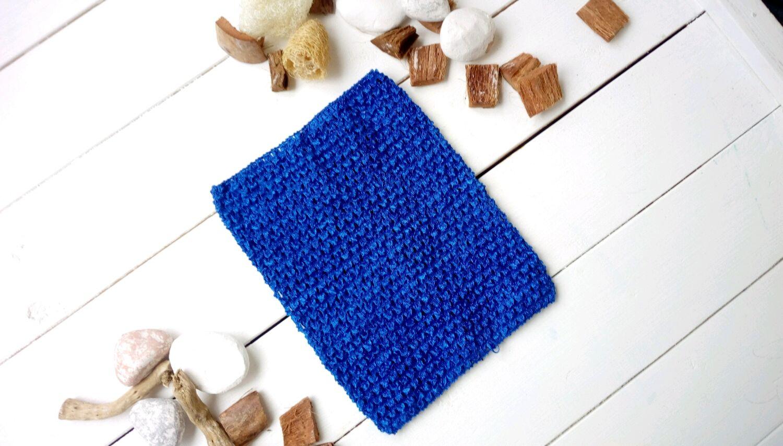 ручной работы. Ярмарка Мастеров - ручная работа. Купить Топ-резинка средний (18 см на 23 см) синий. Handmade.