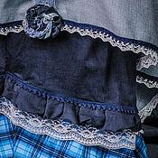 """Одежда ручной работы. Ярмарка Мастеров - ручная работа Великолепная трехслойная бохо-юбка """"Игра в бохо"""". Handmade."""