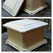 Материалы для творчества handmade. Livemaster - original item Casket casket with a secret bottom, harvesting 027. Handmade.