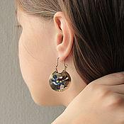 Украшения handmade. Livemaster - original item Colts-earrings