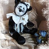 """Куклы и игрушки ручной работы. Ярмарка Мастеров - ручная работа Мишка """"Пьеро"""". Handmade."""