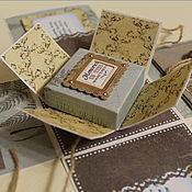 """Открытки ручной работы. Ярмарка Мастеров - ручная работа Коробочка мужская """"Post card"""". Handmade."""