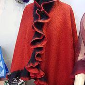 """Одежда ручной работы. Ярмарка Мастеров - ручная работа Пелерины """"Поздняя осень"""", """"Кармен"""". Handmade."""