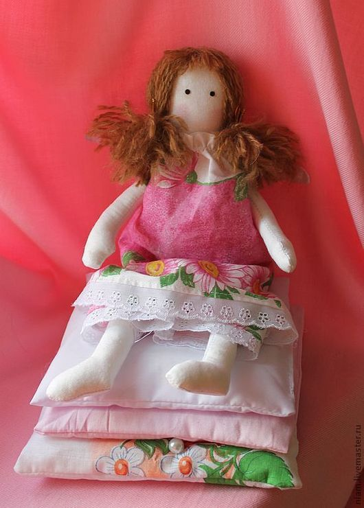 Куклы Тильды ручной работы. Ярмарка Мастеров - ручная работа. Купить Принцесса на горошине. Handmade. Куколка, Принцесса на горошине