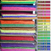 Материалы для творчества ручной работы. Ярмарка Мастеров - ручная работа 10 листов Тутовая бумага Mulberry ОДНОГО цвета. Handmade.