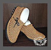 Обувь ручной работы. Ярмарка Мастеров - ручная работа Лоферы , лоферы вязанные , обувь летняя , обувь на заказ .. Handmade.