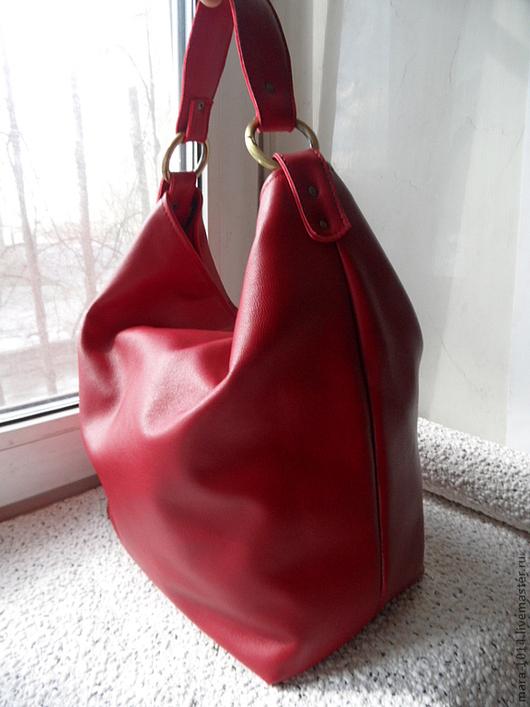 Женские сумки ручной работы. Ярмарка Мастеров - ручная работа. Купить Red Chili Pepper 2. Handmade. Ярко-красный