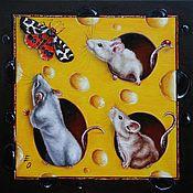 Картины и панно handmade. Livemaster - original item oil painting amazing guest. Handmade.