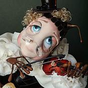 """Куклы и игрушки ручной работы. Ярмарка Мастеров - ручная работа """"Ах,как поёт смычок,когда влюблен сверчок"""". Handmade."""