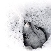 Куклы и игрушки ручной работы. Ярмарка Мастеров - ручная работа СтешА кролик тедди серый лаванда зайка игрушка коллекция купить. Handmade.