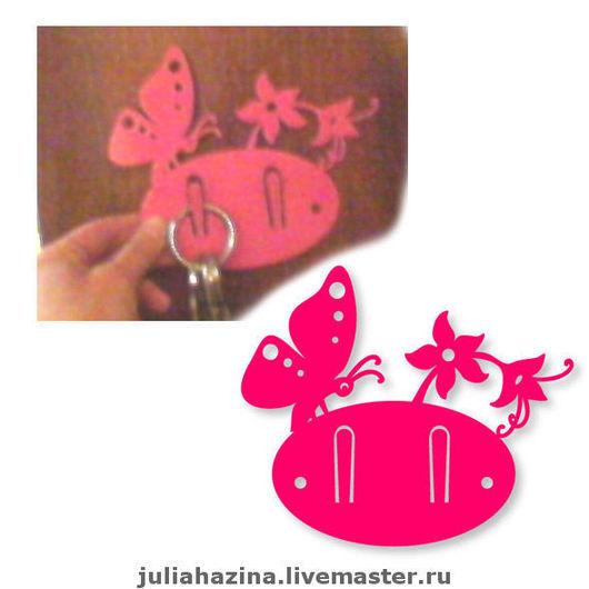 """Прихожая ручной работы. Ярмарка Мастеров - ручная работа. Купить ключница """"бабочка"""". Handmade. Ключница, авторская работа, для дома и интерьера"""
