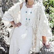Одежда handmade. Livemaster - original item Felted shawl cardigan. Handmade.