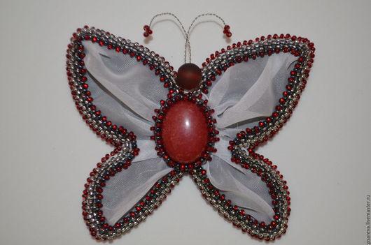 Brooch `butterfly Charmer.` Handmade. Fair Masters.