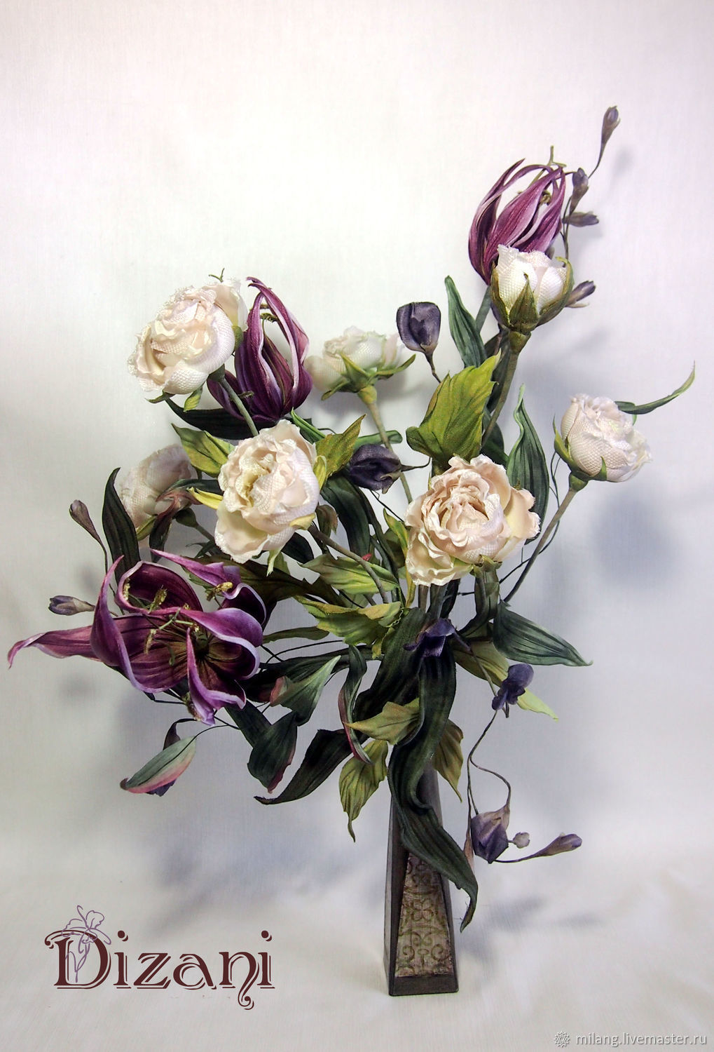 Bouquet Florens Silk Flowers Cloth Flowers Shop Online On