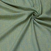 Материалы для творчества ручной работы. Ярмарка Мастеров - ручная работа Лен Желто-Голубой. Handmade.
