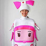 Одежда handmade. Livemaster - original item Robocar Amber. Animator-actor suit. Handmade.