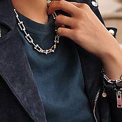 Украшения handmade. Livemaster - original item Tiffany Chain Necklace Silver Plated. Handmade.