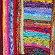 """Текстиль, ковры ручной работы. Бабушкин коврик """"Разноцветный"""". Просто Счастье. Интернет-магазин Ярмарка Мастеров. Бабушкин коврик, коврики"""