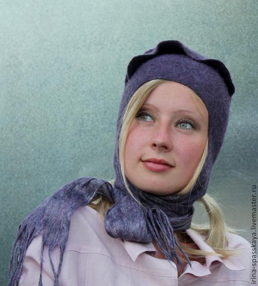 """Шляпы ручной работы. Ярмарка Мастеров - ручная работа. Купить Шляпка """"Ночь с ароматом анемона"""" из коллекции """"Бедуины. Поход на север. Handmade."""