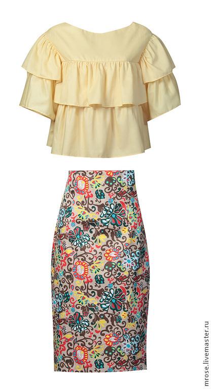 Дизайнерская одежда высочайшего качества, изготовленная из коллекционных тканей в нашей студии