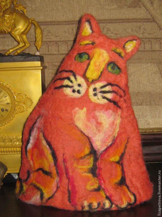 Кухня ручной работы. Ярмарка Мастеров - ручная работа. Купить Рыжий кот. Handmade. Рыжий, подарок женщине