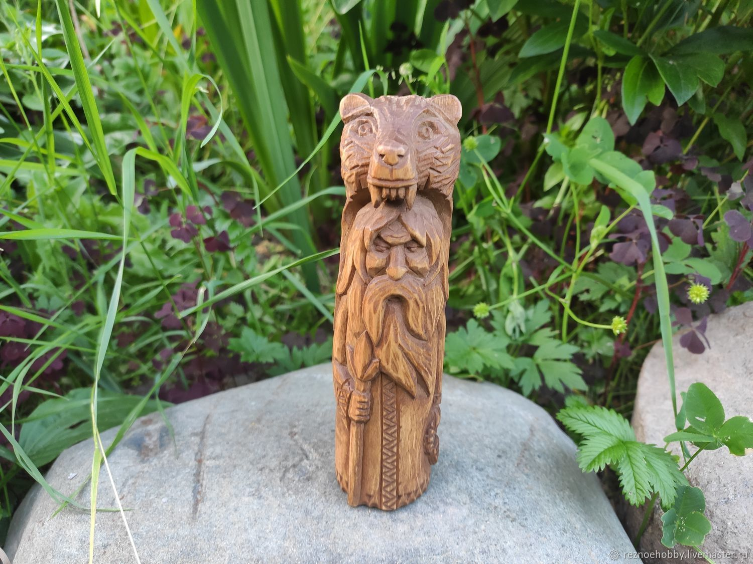 The Idol Of Veles. Slavic God from the lime tree, Figurines in Russian style, Istra,  Фото №1