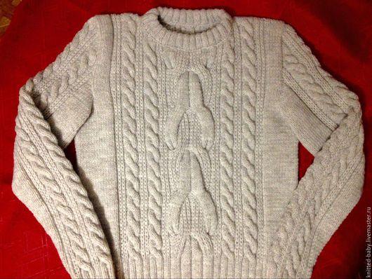 Кофты и свитера ручной работы. Ярмарка Мастеров - ручная работа. Купить Джемпер (свитер)  женский. Handmade. Серый, джемпер женский