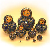 Русский стиль handmade. Livemaster - original item Matreshka well is very small (10 local). Handmade.