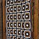 """Текстиль, ковры ручной работы. Заказать Плед из шерсти """"Шоколад"""".. Домовенок. Ярмарка Мастеров. Плед вязаный, интерьер, подарок, коричневый"""