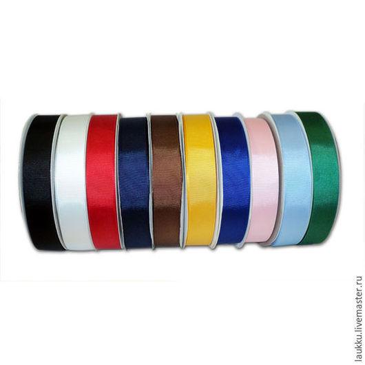 Другие виды рукоделия ручной работы. Ярмарка Мастеров - ручная работа. Купить Репсовая лента 20мм. Handmade. Комбинированный, ленты