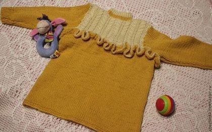 Одежда для девочек, ручной работы. Ярмарка Мастеров - ручная работа Джемпер