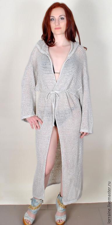 Пляжные платья ручной работы. Ярмарка Мастеров - ручная работа. Купить и халат ) и пальто - как не крути - везде оно :-)). Handmade.