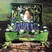Сумки и аксессуары handmade. Livemaster - original item The case of the Frog - Adventurer. Handmade.