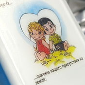 Подарки к праздникам ручной работы. Ярмарка Мастеров - ручная работа Мыло Love is... причина бытия (в коробочке ручной работы). Handmade.