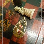 Оберег ручной работы. Ярмарка Мастеров - ручная работа ПОБЕДА И УСПЕХ АМУЛЕТ. Handmade.