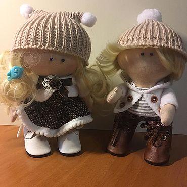 Куклы и игрушки ручной работы. Ярмарка Мастеров - ручная работа Куклы: Гоша и Маргоша. Handmade.