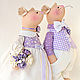 Игрушки животные, ручной работы. Mr. &  Mrs. Mouse. Свадьба в стиле Прованс. Дзигора Наталья. Ярмарка Мастеров.