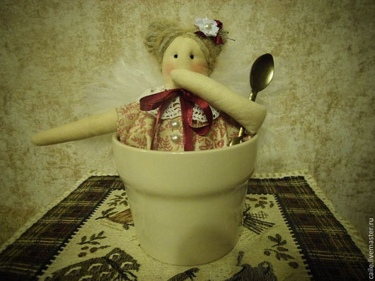 Куклы Тильды ручной работы. Ярмарка Мастеров - ручная работа. Купить Миссис Пепперпот винтажная. По мотивам Тильда. Handmade.