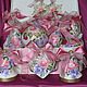 A set of Christmas tree decorations with painted 'shabby Glamoury', Christmas decorations, ,  Фото №1