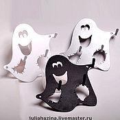 """Для дома и интерьера ручной работы. Ярмарка Мастеров - ручная работа ключница """"привидение"""". Handmade."""