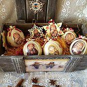 Подарки к праздникам ручной работы. Ярмарка Мастеров - ручная работа Новогодний набор. Handmade.