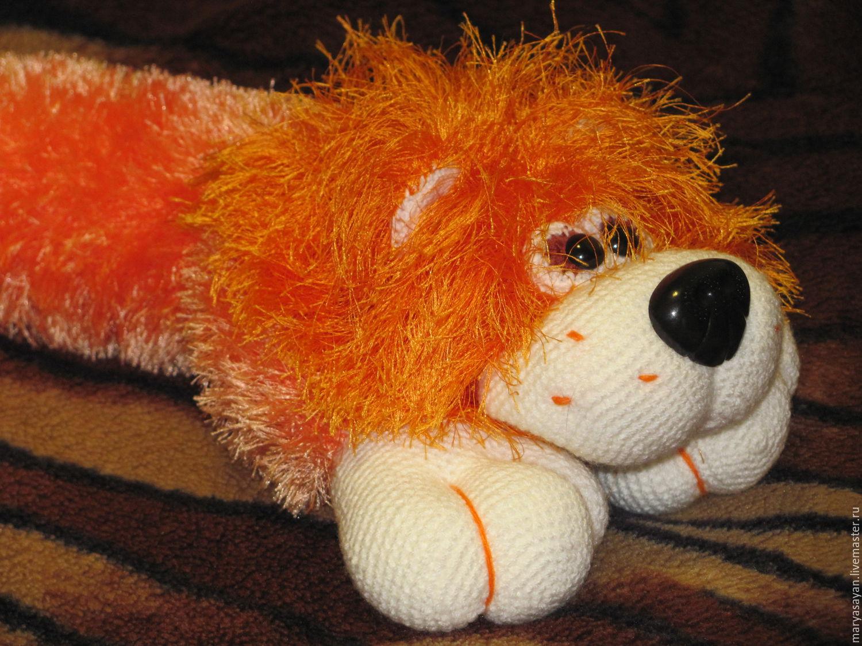 Вязание игрушек нитками травка