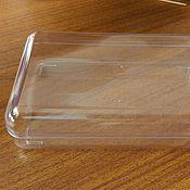 Материалы для творчества ручной работы. Ярмарка Мастеров - ручная работа Коробочка пластиковая жёсткая прозрачная. Handmade.