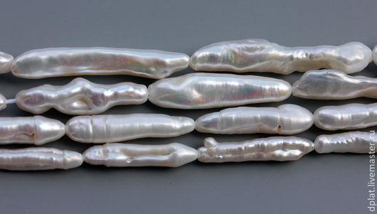 Для украшений ручной работы. Ярмарка Мастеров - ручная работа. Купить Жемчуг барокко палочка бусина 1 шт (Код: бж23). Handmade.
