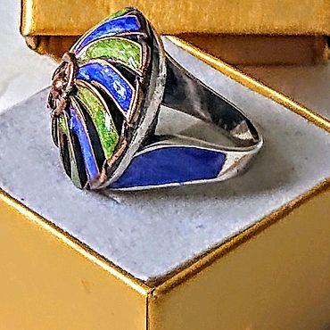 Украшения ручной работы. Ярмарка Мастеров - ручная работа кольцо 17 Тренд 925. Handmade.